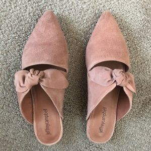 Jeffrey campbell Charlin mules 6.5